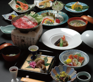 "Cuisine for Japanese style ""Yubara"""